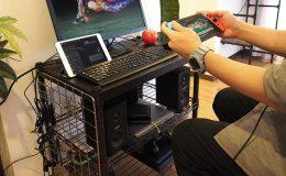 スチールラックで趣味のゲーム機をコンパクトにまとめてみた!