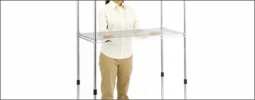 スライドシェルフの組み立て方法