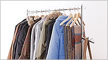 ワードローブなどの洋服収納ラック