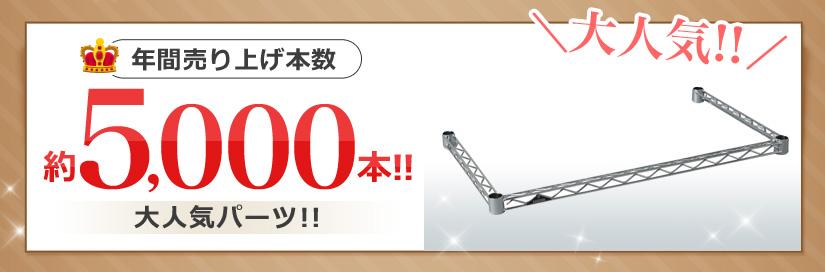 年間売り上げ本数約5,000本!!大人気パーツ!!