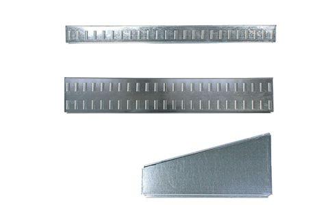 メタルシステムの固定式仕切り(8枚セット)